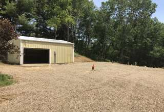 4 sites together with garage