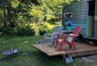 Vintage Glamping in the Gorge
