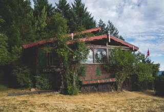 A Redwood Wilderness Chalet