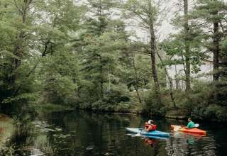 Lazy River to Lake Camp Site