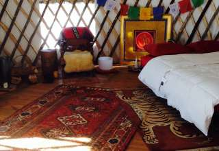 Off-Grid Yurt in Durham CT