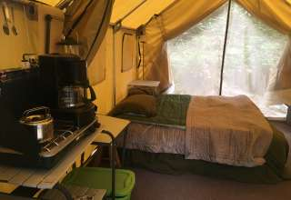 Waterfall Cove : Our Glampsite