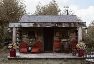 Wild Pines Cabin is a Cozy One