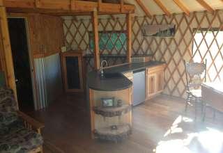 Yurt on the Back 40