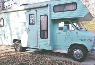 Sweet Vintage Camper!