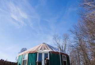 Climbing Vine Yurt