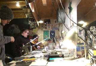 Glass Blowing Camp