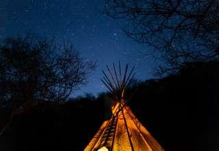 20' Moon and Stars Tipi