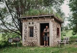Cordwood Writer's Cabin