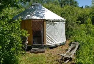 Yurt at Hawks House Inn