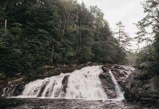 Camping At The Waterfalls