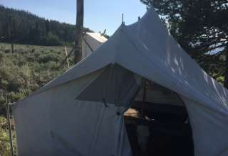 Tents on Togwotee