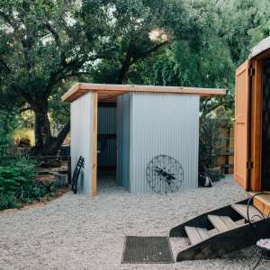Glamping Ojai Yurt