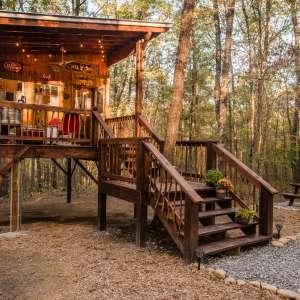 Glamping at Deer Camp Cabin