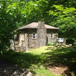Storybook Stone Cabin