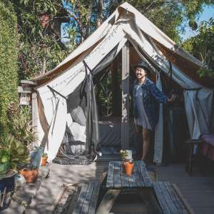 Urban Glamping at La Boheme!