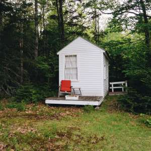 Tiny Cabin on Coast of Maine