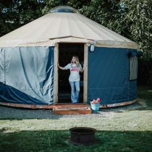 Tillamook Bay City RV Park Yurt