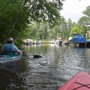 Wixom Lake rustic camping