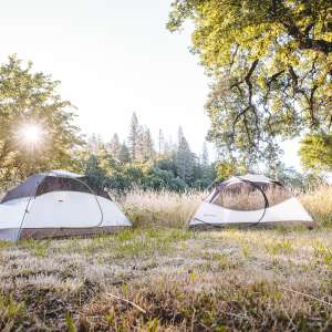 Creekside camping and music