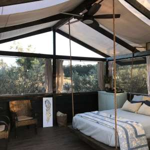Rocky Cyn Ranch Glamping Tent