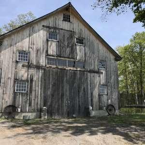 The barn at Sugar Wood Meadow