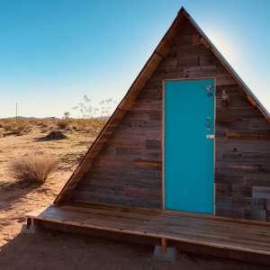 A Desert Cabin