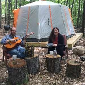 ByrdCliffe Octegon Tent