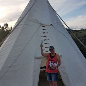 Tipi Glamping In Paradise Valle