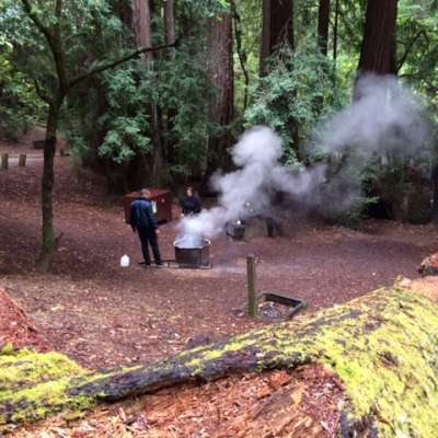 Portola Redwoods Campground