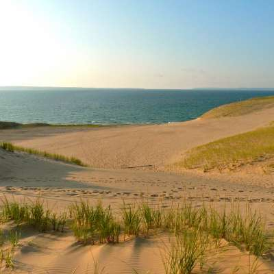 South Manitou Island - the Weather Station Campground