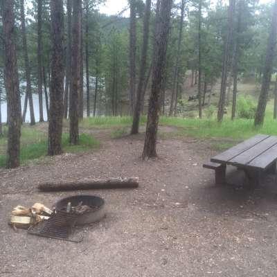 Sheridan Lake South Shore Campground