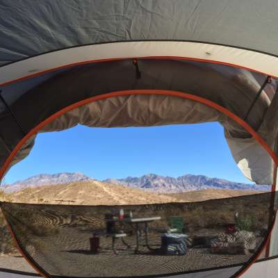 Mesquite Spring Campground