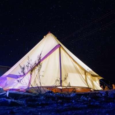 Big Bend Campsites   Sibley Tents
