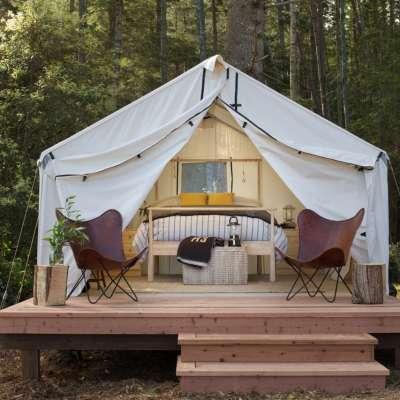Modern Camping Mendocino