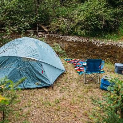 Rabbit O'brien Tent Sites