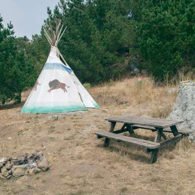 Buffalo Tipi Camp