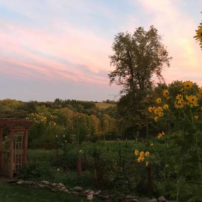 Sweeping View on Catskills Farm