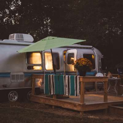 The Airstream Glamper