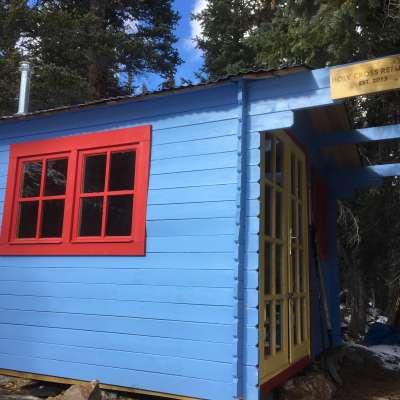 Modern Scandinavian Alpine Hut