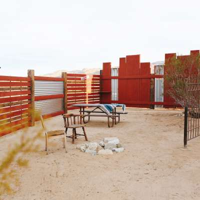 Koti 2 Camp site Joshua Tree