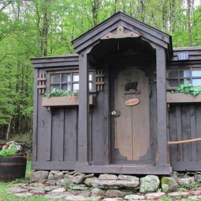 Rustic, enchanted 12 x 12 Cabin