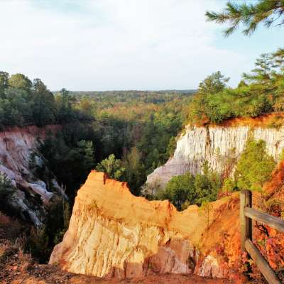 Providence Canyon State Outdoor Recreation Area Campground