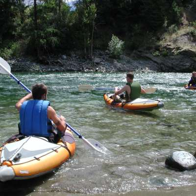 Wenatchee River Camp