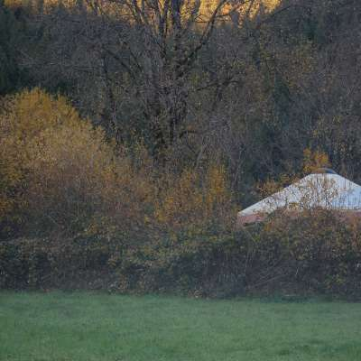 Two Story Riverview Yurt