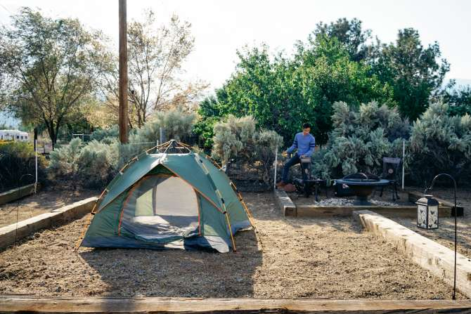 The Littlest Things Tent Camp