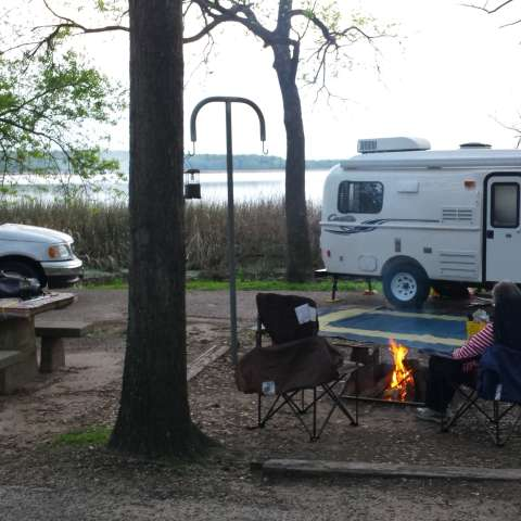 Fort Parker State Park Campground