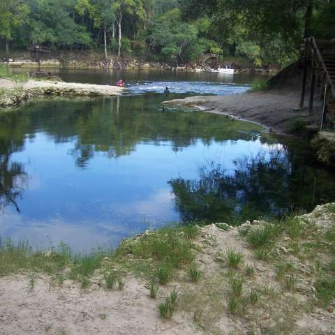 Lafayette Blue Springs Primitive Campground