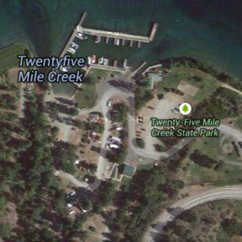 Twenty-Five Mile Creek Campground