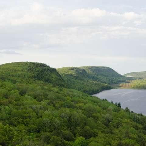 Porcupine Mountains Union Bay Campground